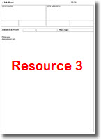 free job sheet template #1